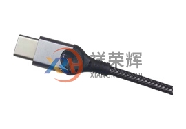 南山USB数据线铝合金外壳